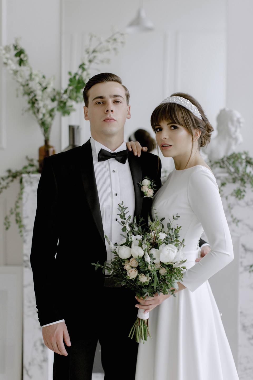 Total White: свадьба в стиле «минимализм»