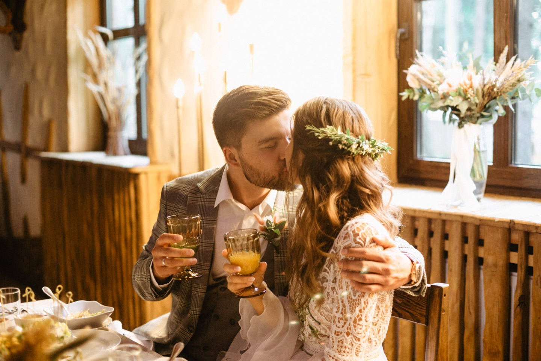 Гармония любви и природы: свадьба в стиле бохо