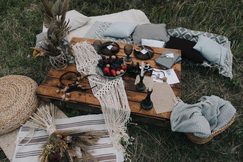 Уютный бохо: стилизованная фотосессия