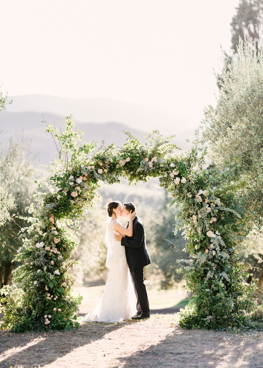 Fine art wedding: камерная свадьба в Италии
