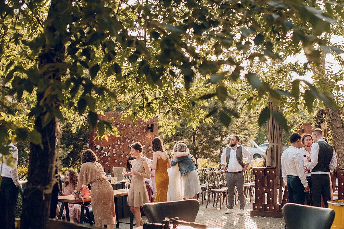 Свадебная вечеринка в лофте: опыт невесты