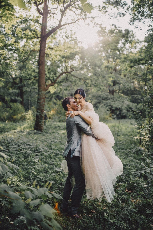 Свадебная love-story в зачарованном лесу
