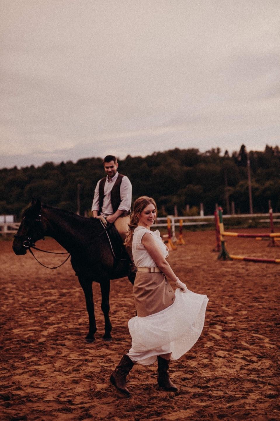 Western Love: фотосессия на ранчо