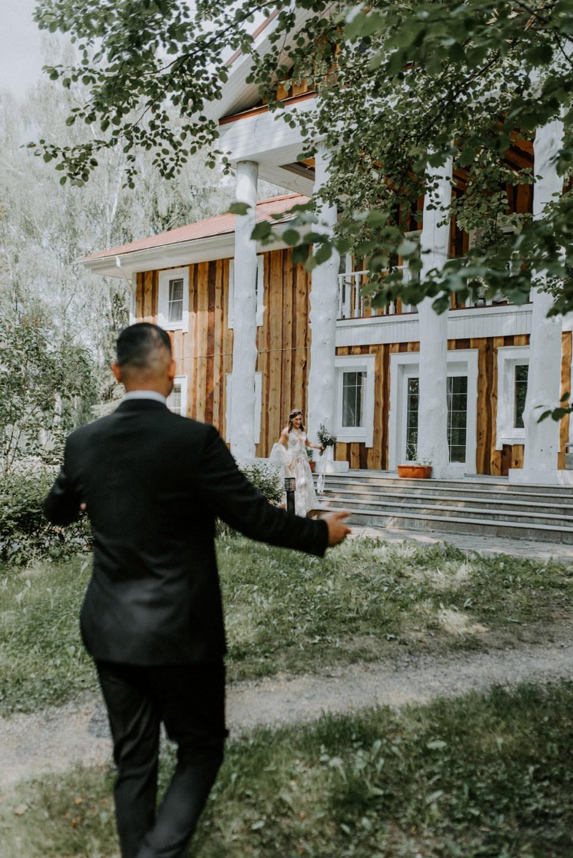 Вслед за сердцем: свадьба на природе своими руками