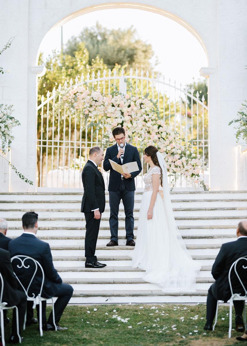 Итальянская элегантность: свадьба под открытым небом