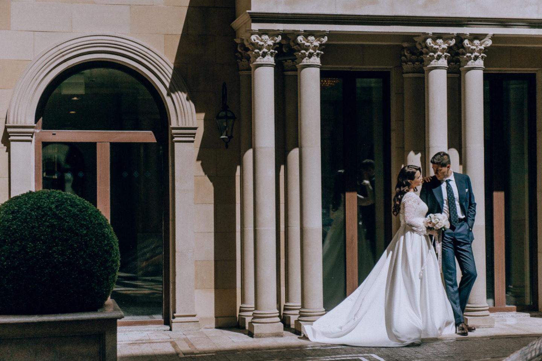 Голливудский шарм: свадьба в классическом стиле