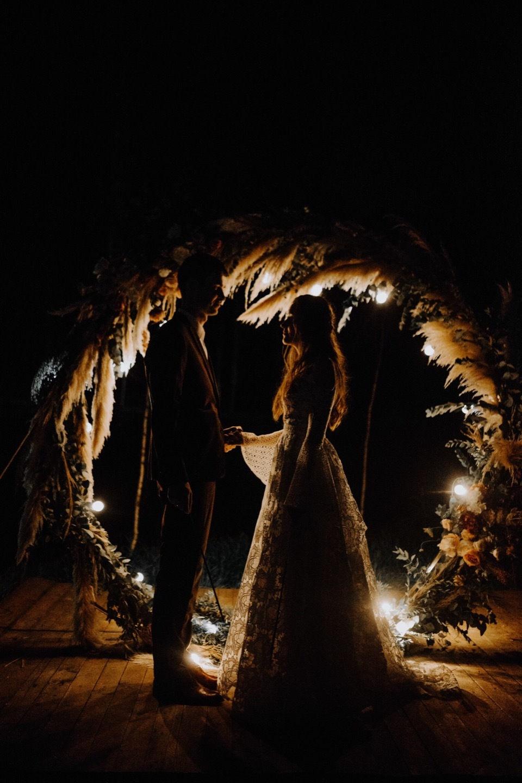 Богемная свадьба в экодеревне