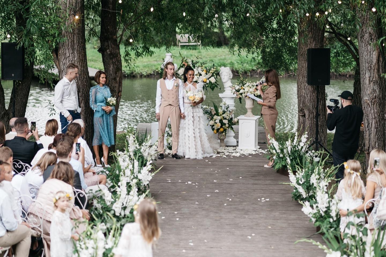 Наша маленькая Италия: свадьба в усадьбе