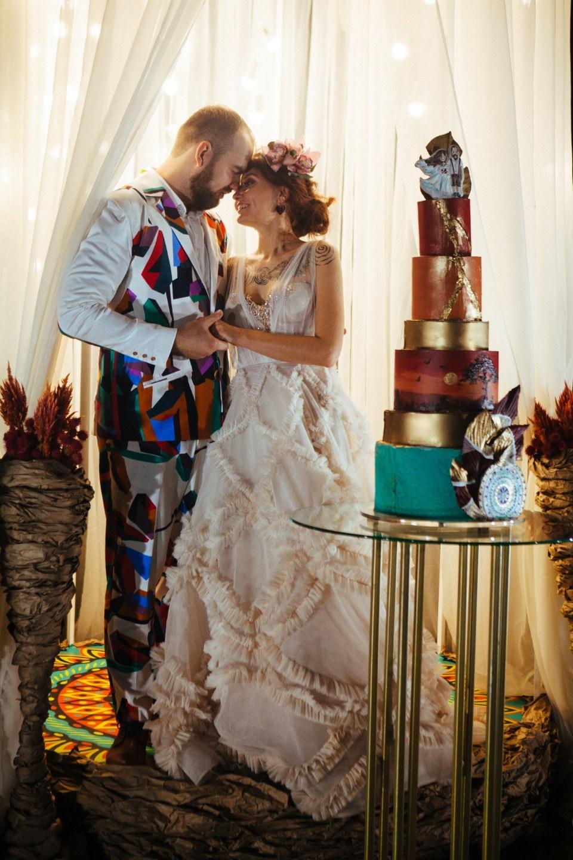 Креативная свадьба с Африканскими мотивами