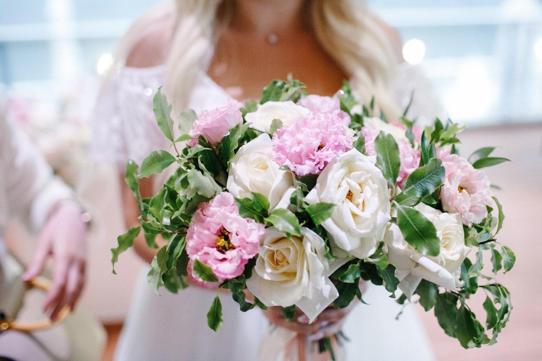 Наша «розовая» мечта: классическая загородная свадьба