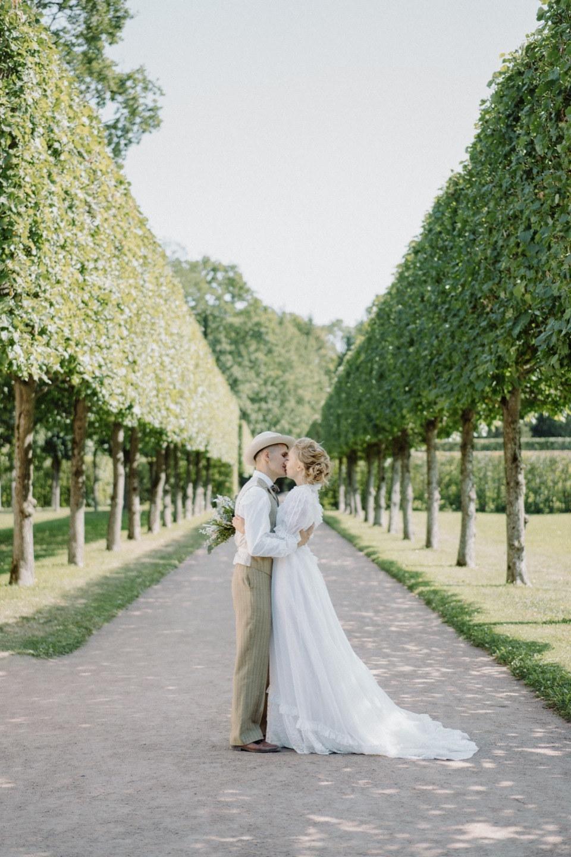 Элегантный винтаж: свадьба на свежем воздухе