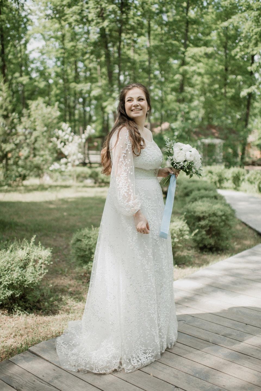 Стрелы Купидона: романтичная летняя свадьба