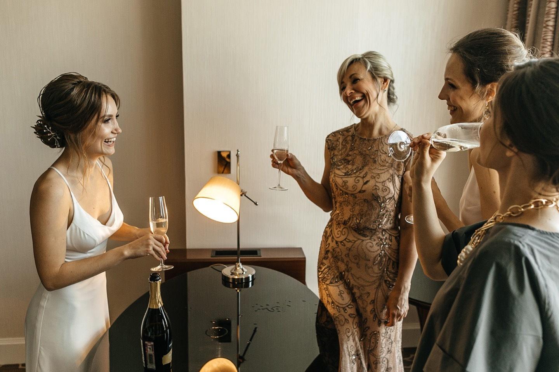 Элегантная свадьба в урбан-стилистике