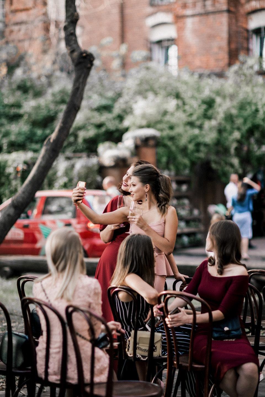 Песня наших сердец: осенняя свадьба в лофте