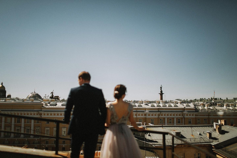 Two cities — one love: свадьба у Финского залива