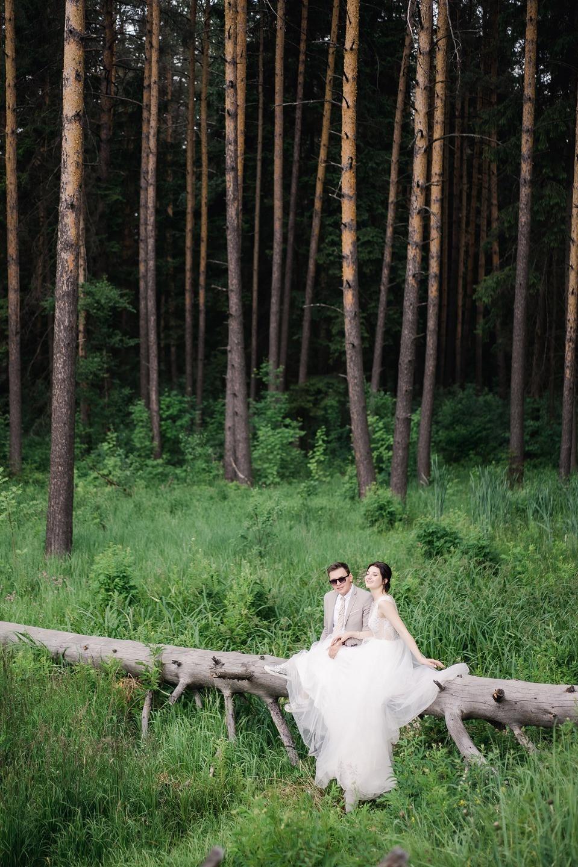 Романтичная свадьба в пудровой палитре