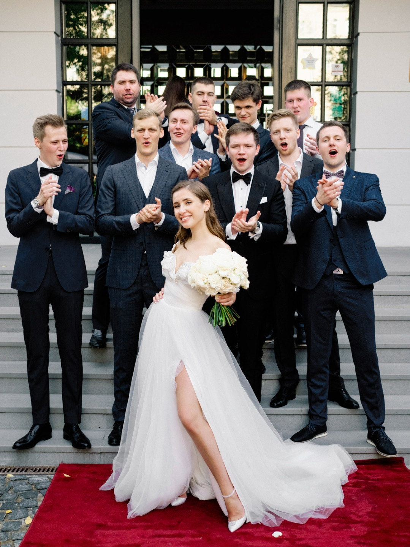 Свадебная вечеринка в Голливудском стиле: опыт невесты
