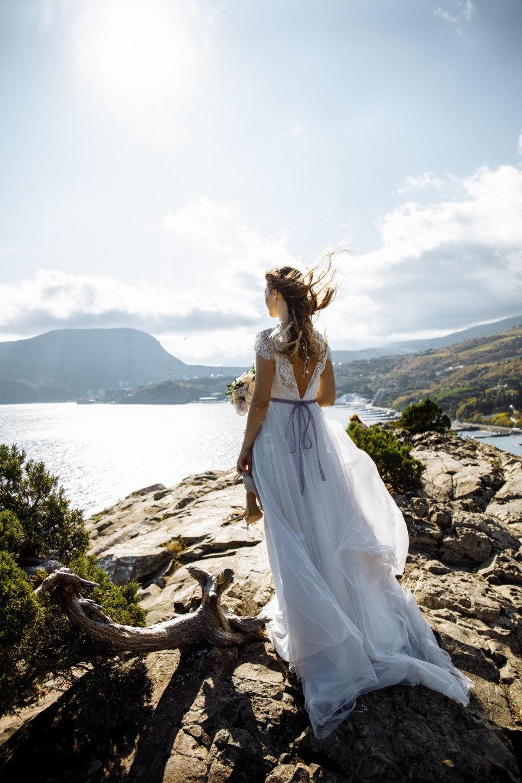 Лавандовая романтика на берегу моря