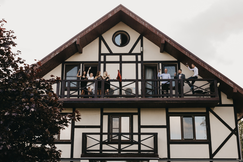 Летняя свадьба в классическом европейском стиле