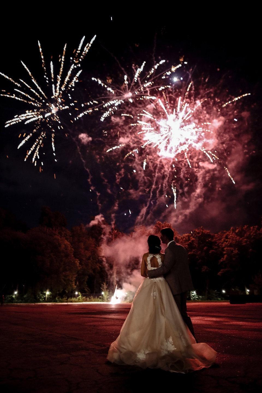Классическая свадьба в белой гамме