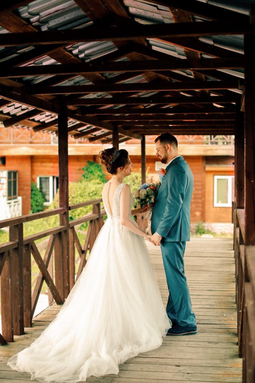 В ритме вальса — загородная свадьба в нежных тонах