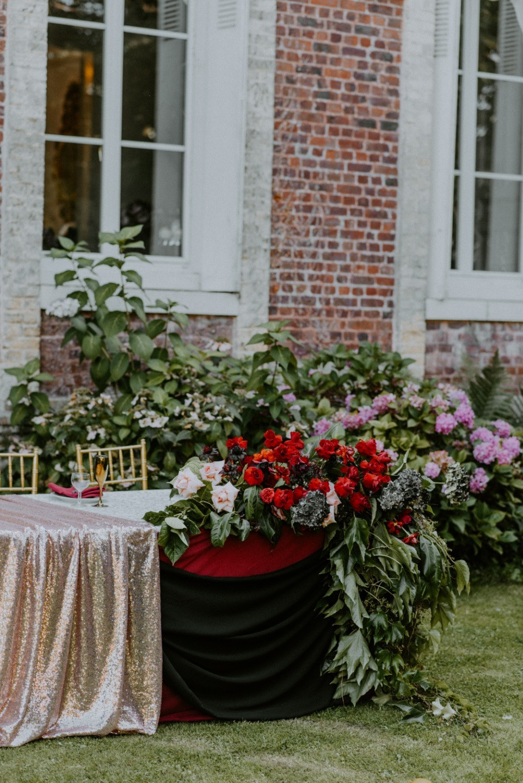 Свадьба в замке на севере Франции
