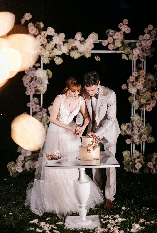 Элегантная свадьба с французским настроением
