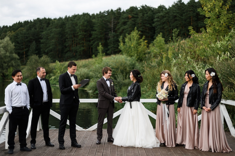 Дыхание леса: воздушная эко-свадьба