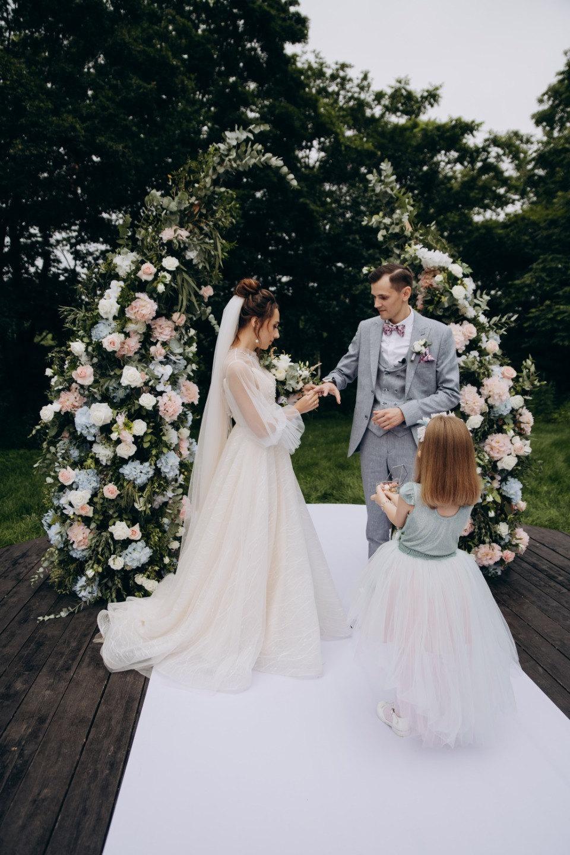 Атмосферная свадьба в классическом стиле