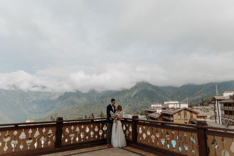 Weekend в Горах: яркая свадьба в богемном стиле