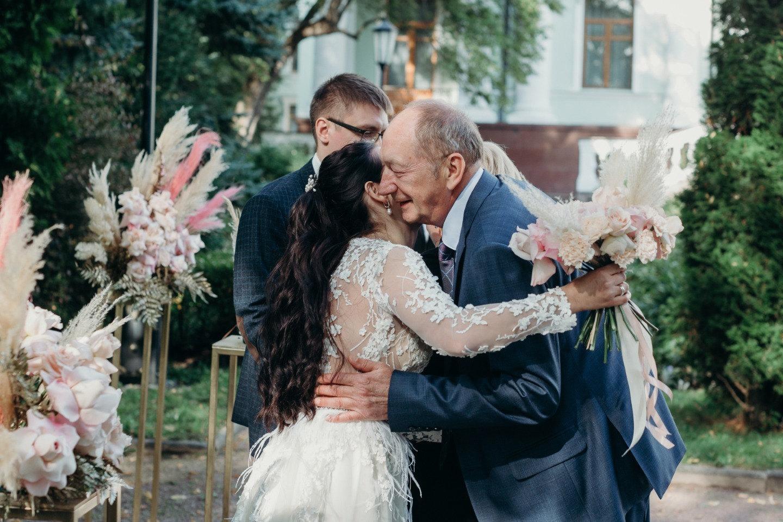 Танец любви: классическая свадьба в усадьбе