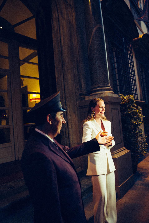 Съемка в элегантном дворце во Флоренции