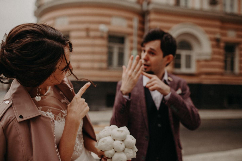 «Город для двоих»: романтичная свадьба в центре Москвы