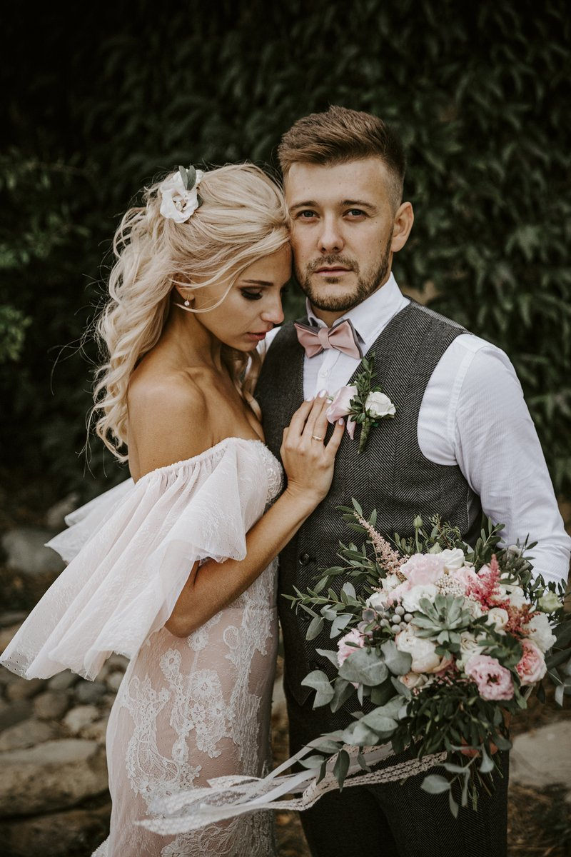 Природа Юга: атмосферная свадьба на природе