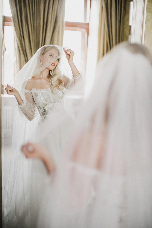 Воздушная и яркая осенняя свадьба в эко-стиле