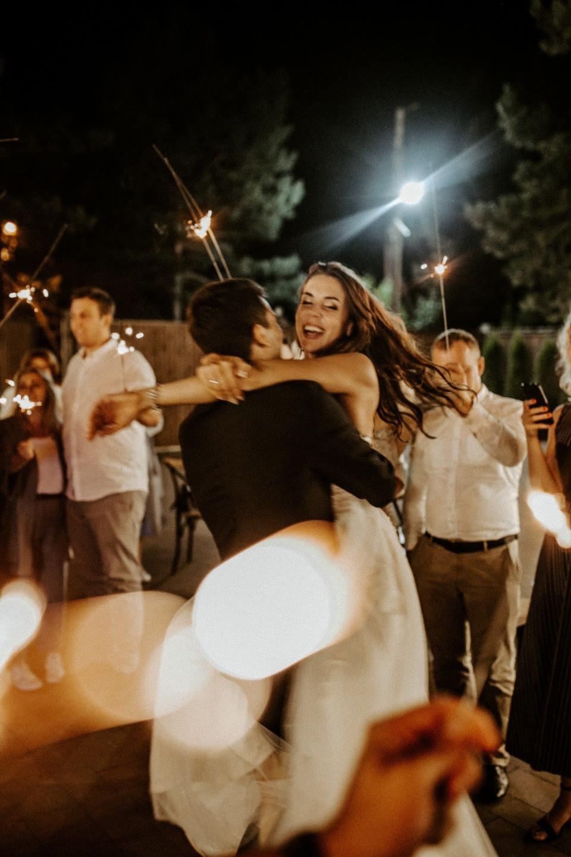 Теплый уютный вечер: свадьба в формате фуршета