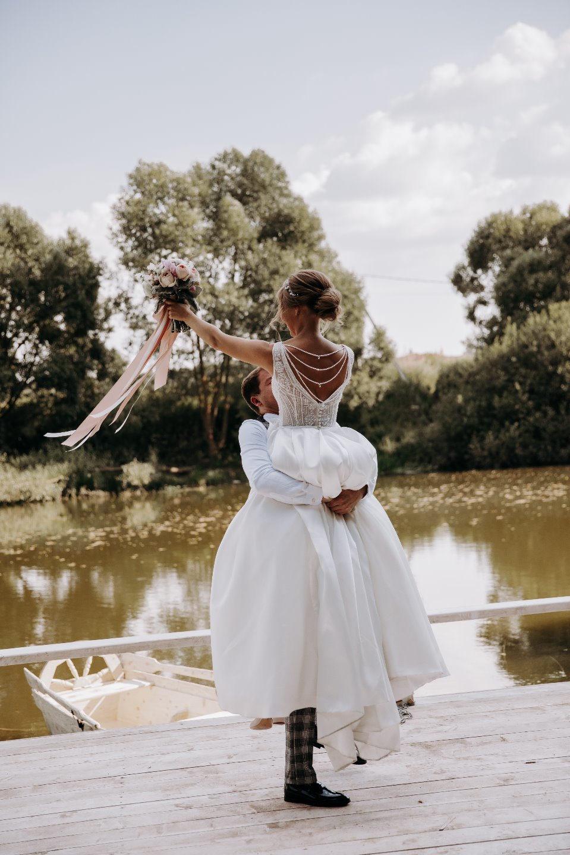 Стильная свадьба в средиземноморском замке