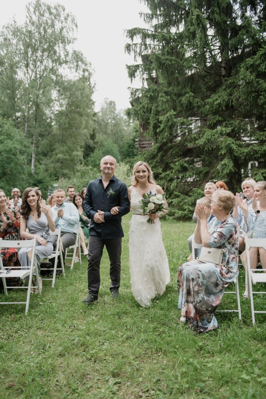 Botanic: семейная уютная свадьба в лесной даче