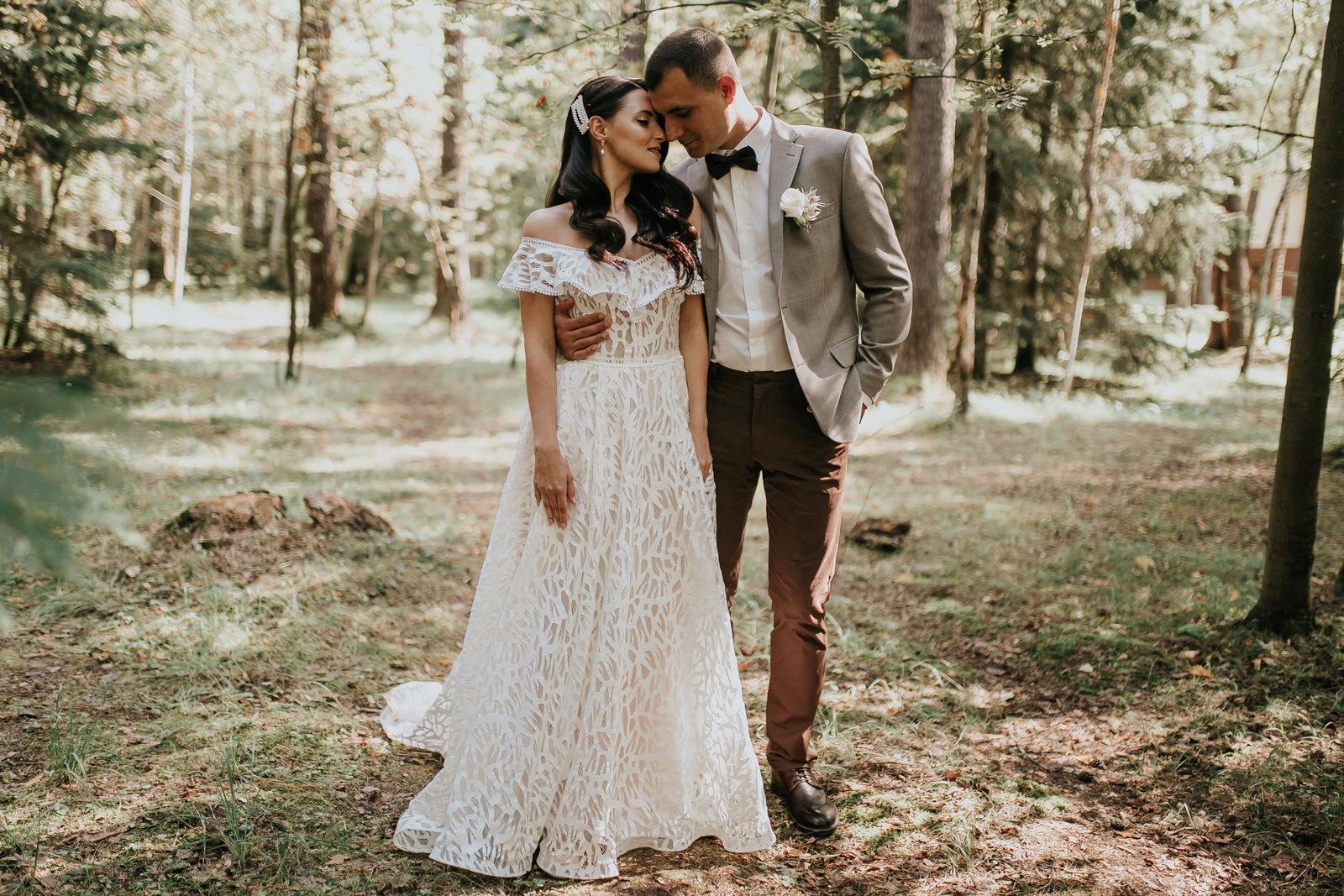 Любовь к природе: эко-свадьба в загородном парк-отеле