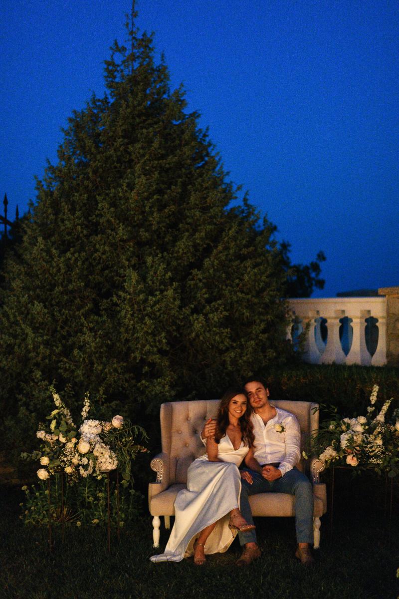 Любовь на высоте: чувственная свадьба в горах