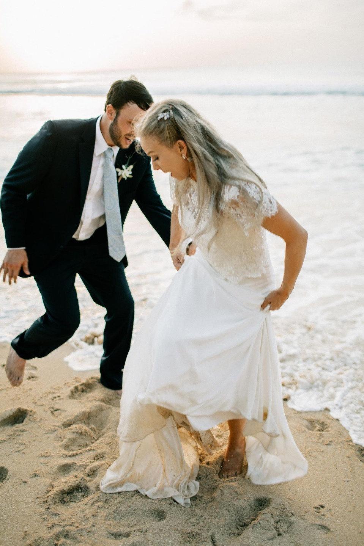 Под шум волн: свадьба для двоих на Бали