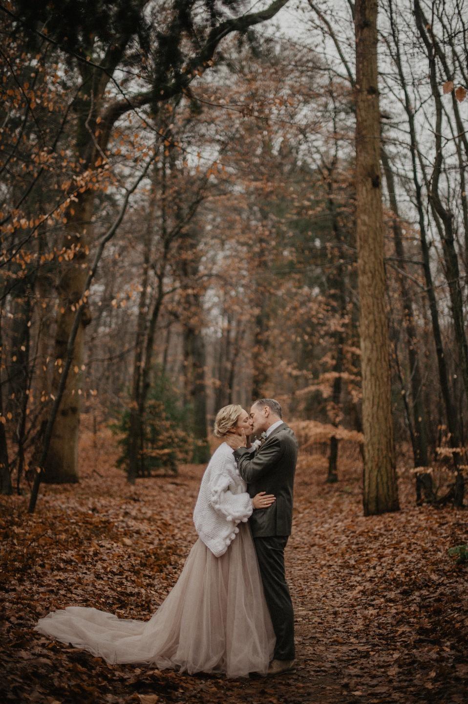 Уютная зимняя свадьба в Нидерландах