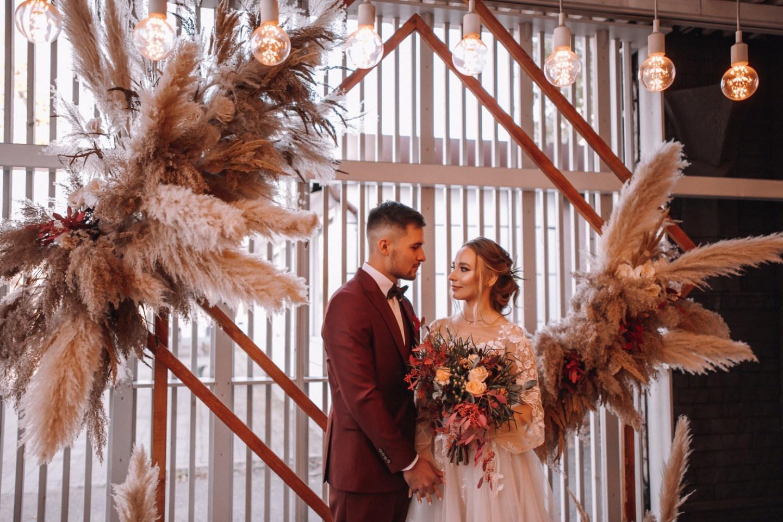 «Звездное небо»: свадьба в богемном стиле