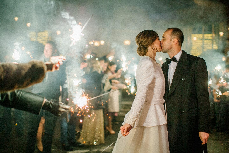 Элегантная и воздушная свадьба в ресторане