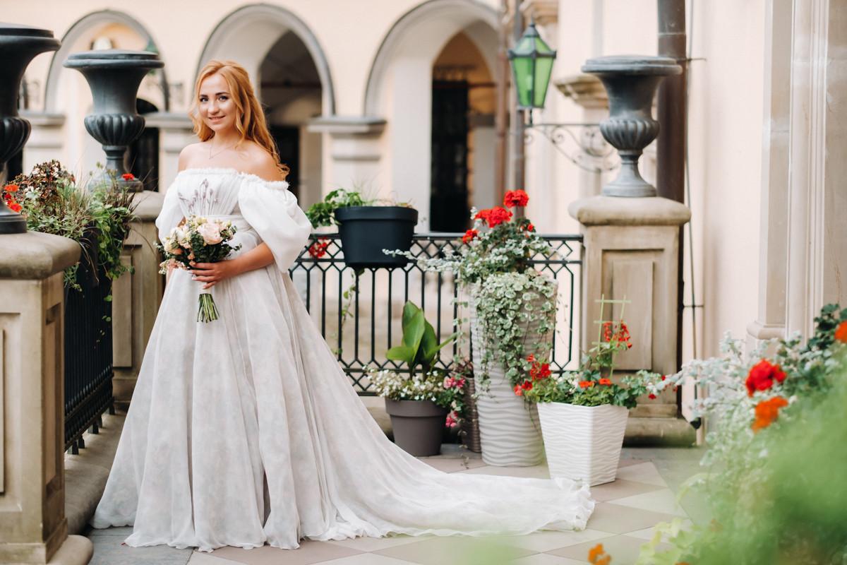 Средневековый бал: тематическая свадьба в замке