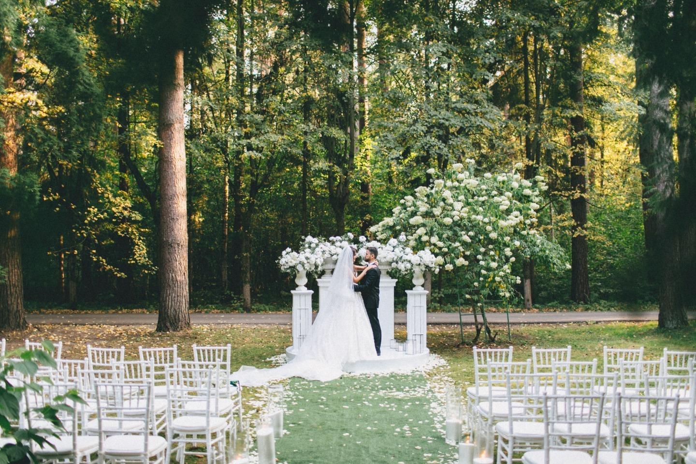 Тематическая свадьба на вилле