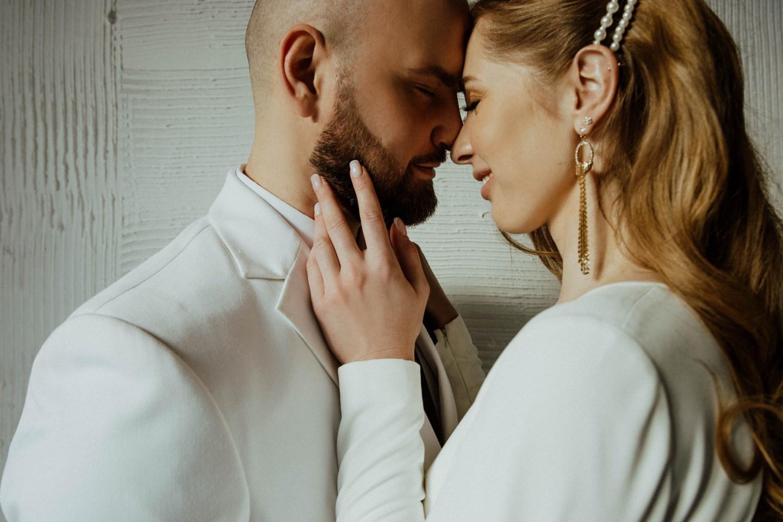 «Феномены»: тематическая свадьба в синих оттенках