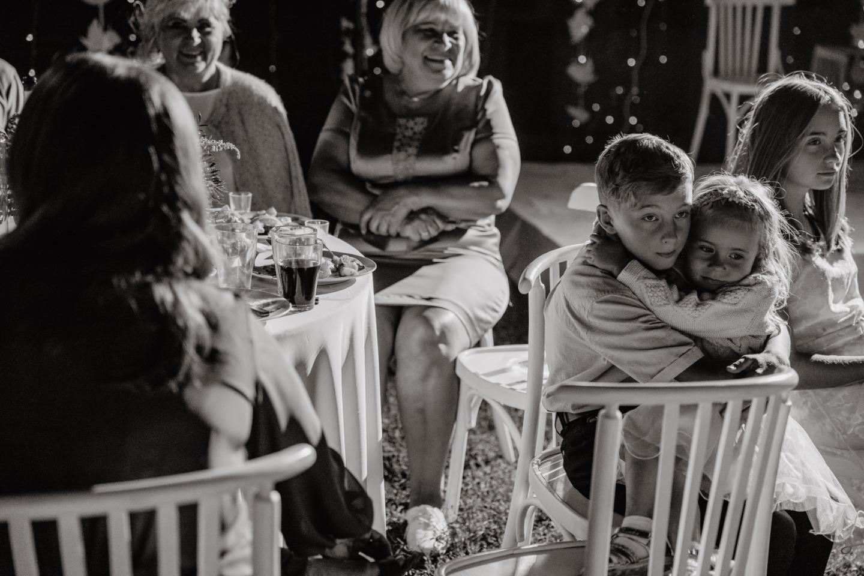 Семейная рустик-свадьба в лесном отеле