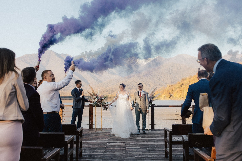 «Закон тяготения»: концептуальная свадьба в Грузии