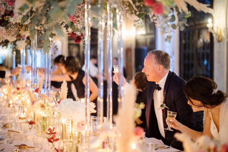 Венецианский современный шик: яркая свадьба в Италии
